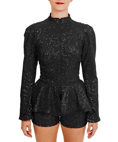IMAN - Jacket Sequin Knit