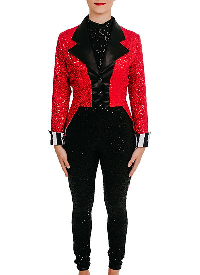 LETTIE - Jacket Sequin Knit
