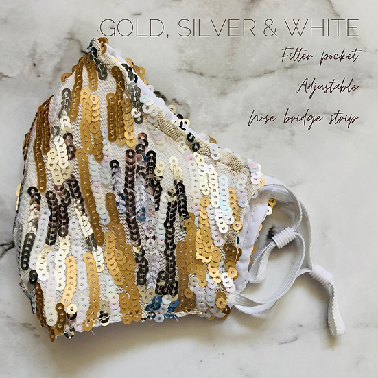 GOLD, SILVER & WHITE  SPECIALTY