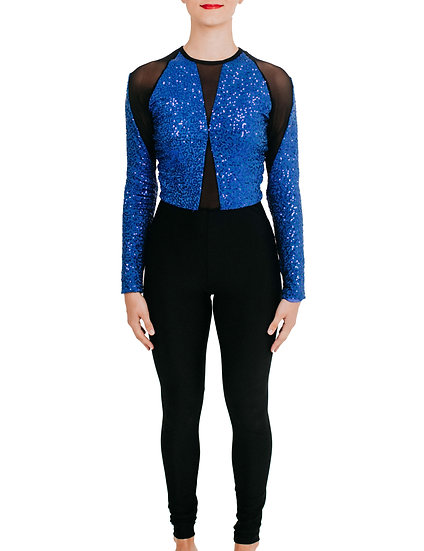TASHA - Jumpsuit Sequin Knit