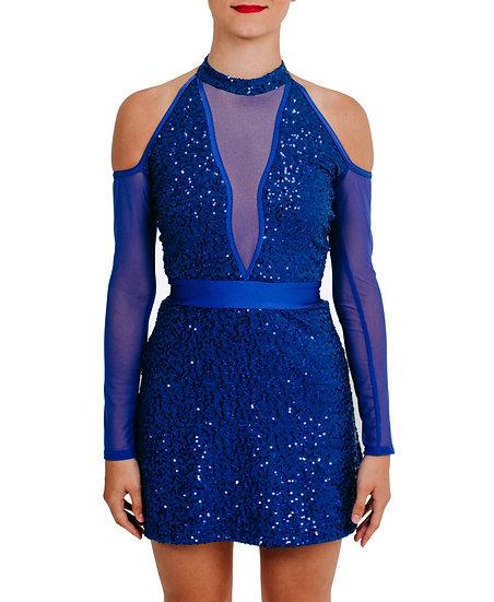 MICAH - L/S A-line Sequin Knit