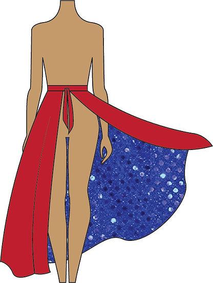 PARTIAL SQN Field Skirt
