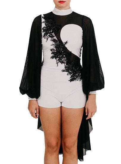 JOLENE -Back Skirt Applique/Lycra