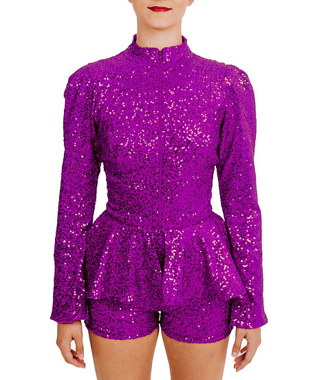 IMAN - Jacket Sequin Knit