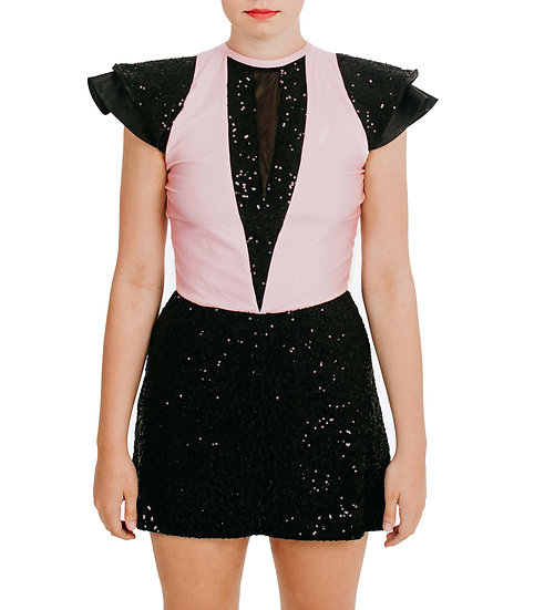 LIZZY - A-line Sequin Knit