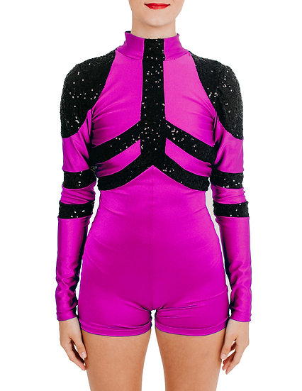 ZOEY - Biketard Lycra/Sequin Knit