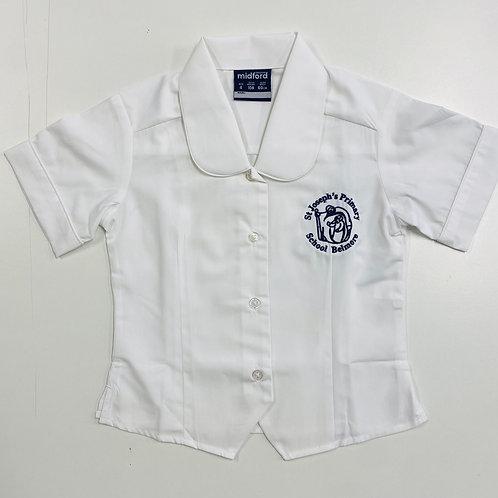 St Joseph Belmore Girls Short Sleeve Shirt