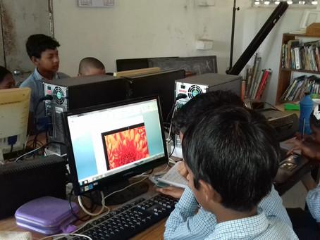 En clase de informática