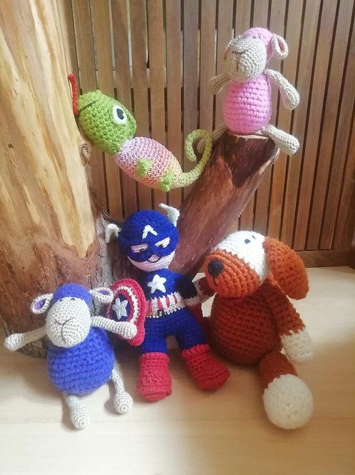 Muñecos artesanos