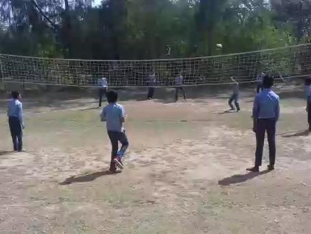 Jugando al Volleyball
