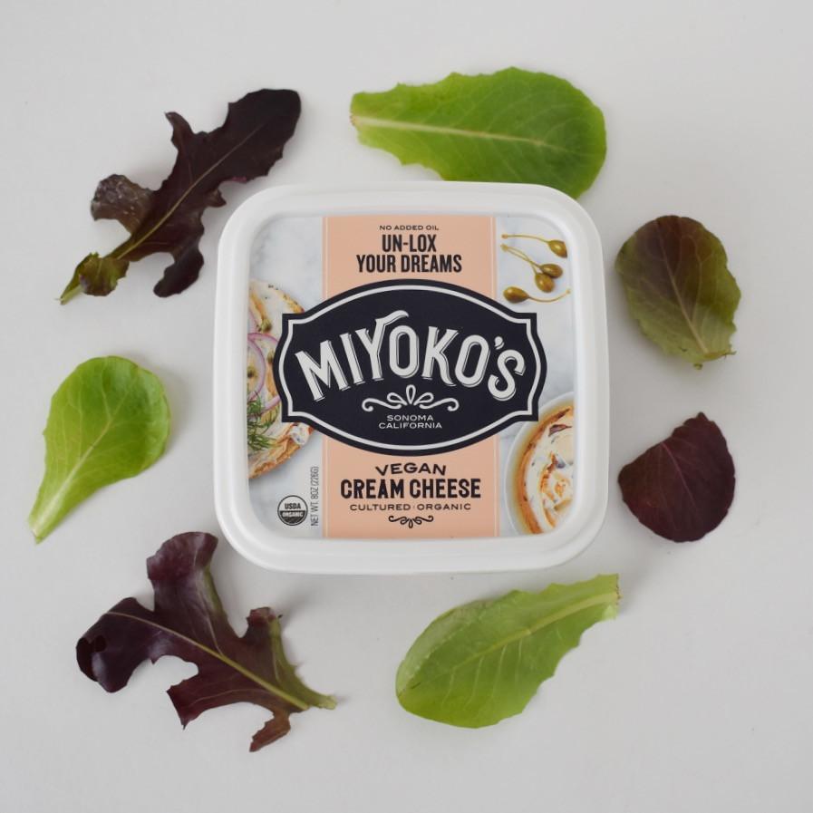 Miyoko's brand lox cream cheese