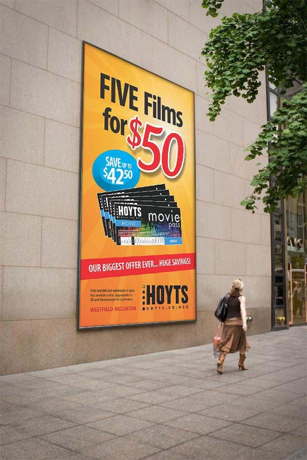 Hoyts Billboard Tall Narrow on wall.jpg