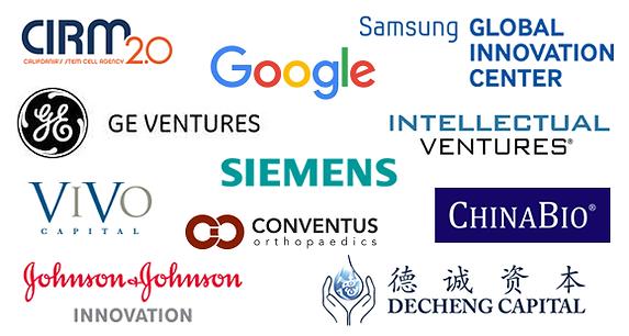 Dorsey 4D Symposium Speakers: CIRM, Google Life Sciences, Samsung, GE Ventures, Siemens, Vivo Capital, Conventus Orthopaedics, ChinaBio, Intellectual Ventures