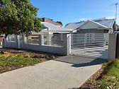 Boundary fence with automated gate