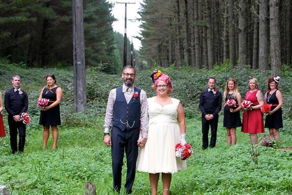 Amanda Girvan Wedding