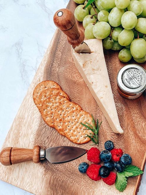 Beechwood Handle Cheese Knife