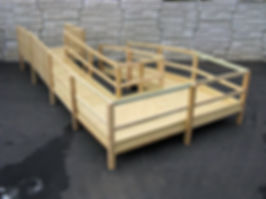 Wooden Ramps by Sun Stairlifts Bethlehem PA