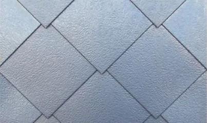 Beispiel einer Raute quadratisch auf Kop