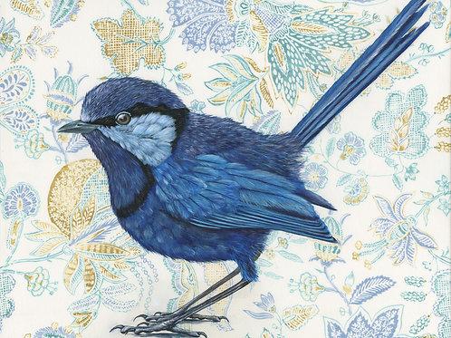 Blue Casanova  greeting card