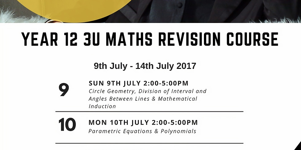 HSC 3U Mathematics Revision Course