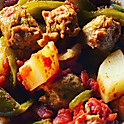 Baked Sausage & Peppers