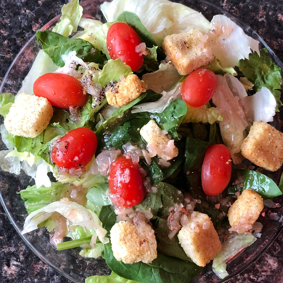 ITALIAN HOUSE SALAD (Serves 8-12): $30.00