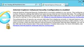 Disabling IE enhanced security configuration (IE ESC) on Windows Server 2012
