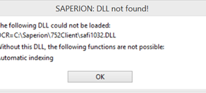 Using ABBYY FineReader 10 with SAPERION 7.5.x