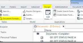 Creating Automated Indexing for Scanned documents in Saperion