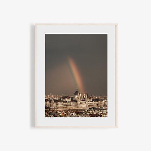 Soft Light Visuals - Rainbow & Hungarian Parliament