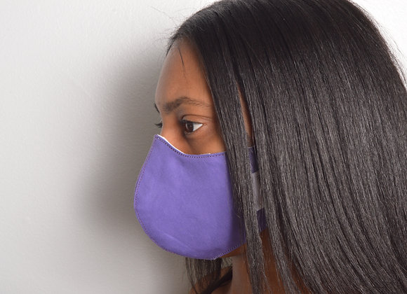 Cotton Face Mask - Lavender