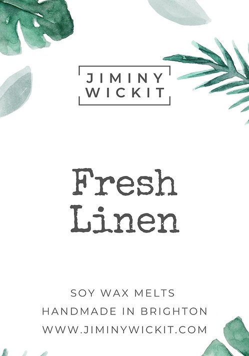 Fresh Linen - Wax Melt Snap bar