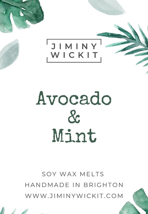 Avocado & Mint - Wax Melt Snap Bar