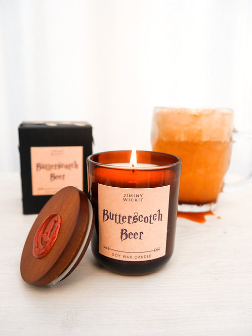 Butterscotch Beer -Soy Wax Candle