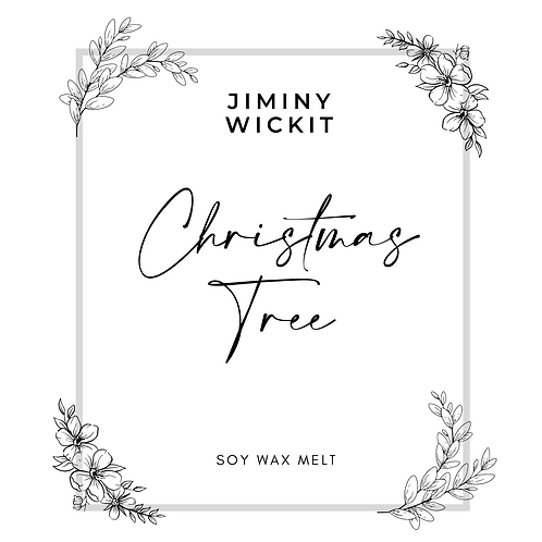 Christmas Tree - Soy Wax Melt Snap Bar