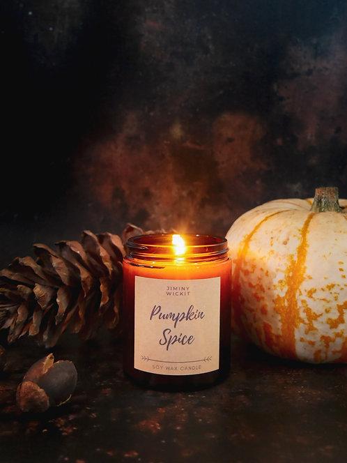 Pumpkin Spice - Amber Jar Candle
