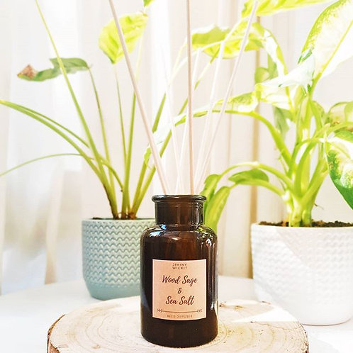 100ml Amber Reed Diffuser - Various Fragrances