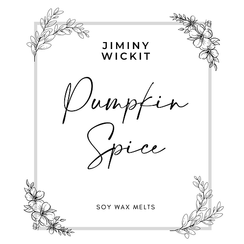 Pumpkin Spice - Soy Wax Melt Snap Bar