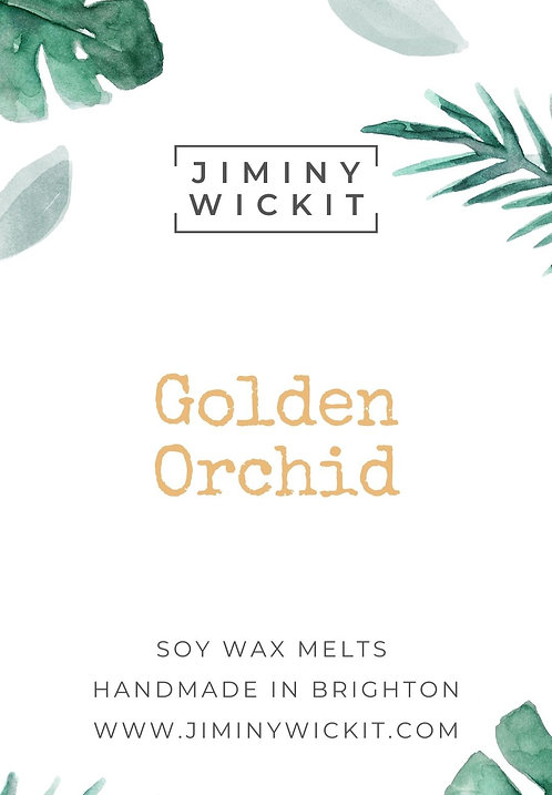 Golden Orchid - Wax Melt Snap Bar