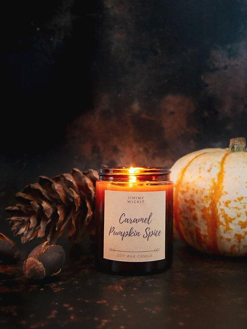 Caramel Pumpkin Spice - Amber Jar Candle