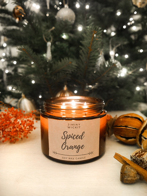 3 Wick Large Amber Candle - Various Fragrances