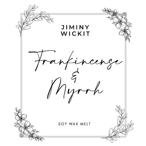 Frankincense & Myrrh - Soy Wax Melt Snap Bar