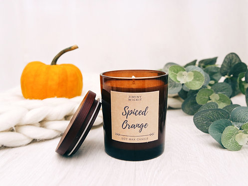 Spiced Orange - Soy Wax Candle - Various Sizes