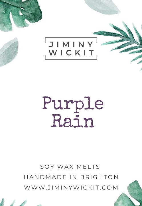 Purple Rain - Wax Melt Snap Bar