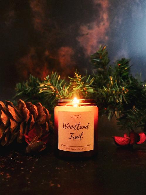 Woodland Trail - Amber Jar Candle
