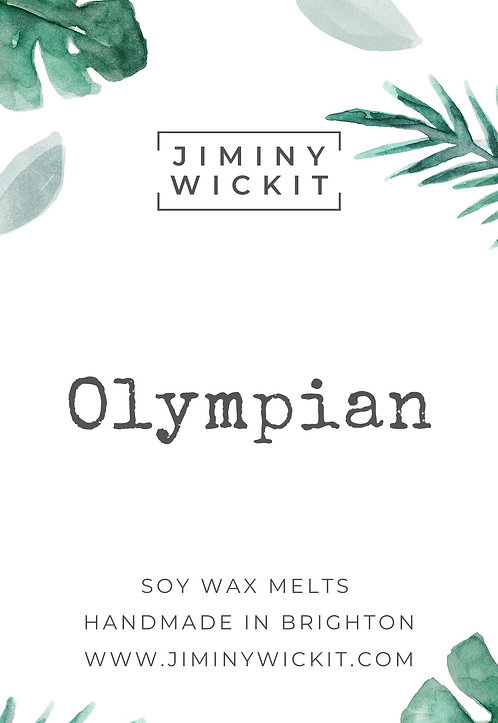 Olympian - Wax Melt Snap Bar