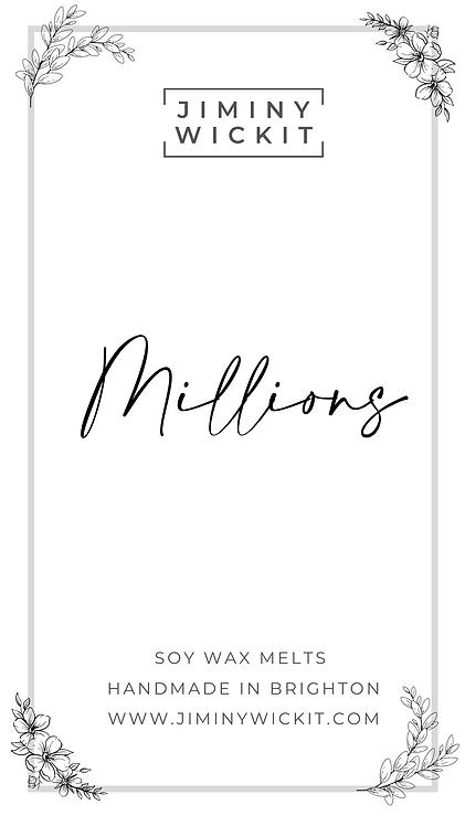 Millions - Soy Wax Melt Snap Bar