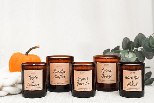 Spiced Orange - Medium Soy Wax Candle