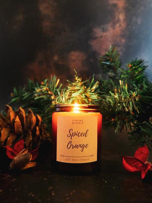 Spiced Orange - Amber Jar Candle