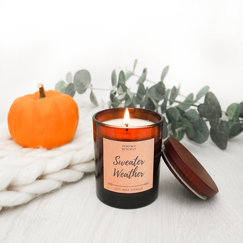Sweater Weather - Soy Wax Candle - Various Sizes